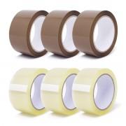 gws Tapes gws Paket-Klebeband Light PP leise