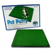 Baño Ecologico Mascota Perro Grande Xl Potty Pad