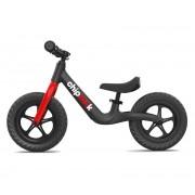 Dječji bicikl bez pedala ChipMunk crni aluminij/magnezij