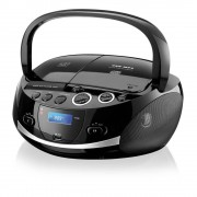 RADIO PORTATIL MULTILASER CD USB FM DOC STATION 20W