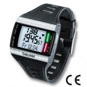 Hodiny s meraním pulzu a LED diódami, Beurer PM 62 (Hodinky)