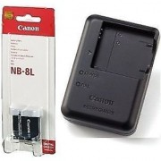 Canon NB-8L Lithium-Ion Battery Pack + canon CB-2la Charger