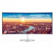 "Monitor Samsung LC34J791WT Curvo Thunderbolt HDMI USB 34""-Plata"