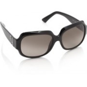 Fendi Over-sized Sunglasses(Brown)
