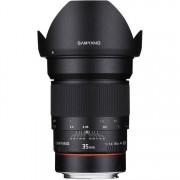 SAMYANG 35mm F/1.4 AS AE UMC - CANON - 2 Anni Di Garanzia