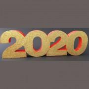 Dekorativni novogodisnji broj 2020