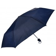 Blooming Brollies Umbrelă pliabilă Perletti Basics Collection 12247 Dark Blue