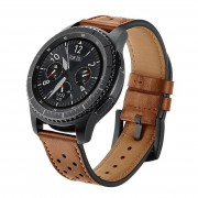 LEONIDAS Genuine Leather Watch Strap For Samsung Gear S3 Band Replacement Watch Bracelet For Gear S3 Classic frontier