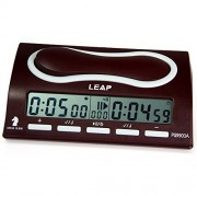 Robolife Professional Digital Chess Clock,LEAP PQ9903A Omnipotent I-go Count Up Down Timer 29 Pre-programmed Options