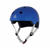 Triple Eight - Dual Certified with EPS liner Metallic Blue - Helm