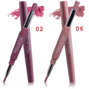 MISS ROSE 2 IN 1 Waterproof Matte Lip Liner With Lipstick set of 2