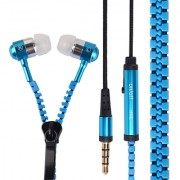 99 DEALS UNIVERSAL ZIPPER EARPHONE with 3.5mm jack & Compatible for XOLO Play 6X-1000