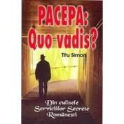 Pacepa: Quo vadis? Din culisele Serviciilor Secrete Romanesti
