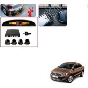 Auto Addict Car Black Reverse Parking Sensor With LED Display For Volkswagen Vento