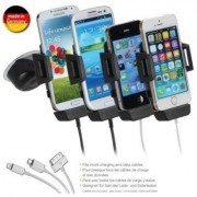 iGrip Support Voiture & Chargeur Voiture actif p. Samsung Galaxy S6 Edge