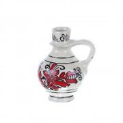 Ulcior mic ceramica rosie de Corund 200 ml Model 2
