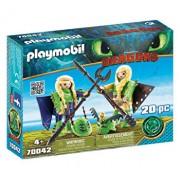 Playmobil Dragons III, Raffnut si Taffnut in costume de zbor