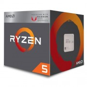 CPU AMD Ryzen 5 2400G, Processor BOX, soc. AM4, 65W, RX Vega Graphics s Wraith Stealth chladičom