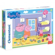Puzzle Maxi Super Color Peppa Pig, 60 piese
