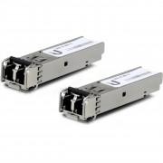 Modul SFP Ubiquiti UF-MM-1G, 1.25Gbps, 2xLC (Multi-Mode), 850nm, 550m, 2 Pack
