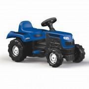 Tractor cu pedale albastru