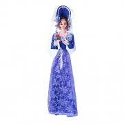 Planet Of Toys Cute Musical Umbrella Rotating Doll In Blue Color