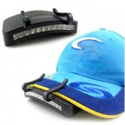 Meco 11 LED Clip-On Cap Light Lamp Hiking Camping Fishing Outdoor Cap Lights