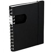 Samsill Touch of Color Spiral Journal Window on Front Cover for Color Accent 5 x 7-Inch 80 Lined Sheets (160 Pages)