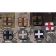 "MSM Patch MSM - Medic Square (Färg: Forest, Höjd: 1"")"