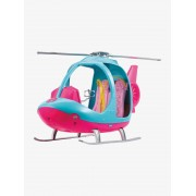 Mattel O Helicóptero da Barbie, MATTEL rosa vivo liso com motivo