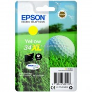 Epson T3474 Patron Yellow 10,8 ml (Eredeti) C13T34744010 WorkForce Pro WF-3725DWF WorkForce Pro WF-3720DWF