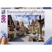 Puzzle Rothenburg, 500 piese Ravensburger