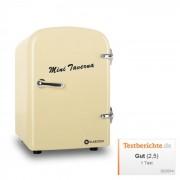 Bella Taverna frigorífico congelador/ caixa térmica mini 4 litros em cor creme