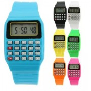 Calculator Watch For Kids ( Color may vary as per availability)