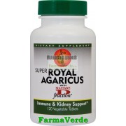 Super Royal Agaricus Imunitate120 tablete vegetale Secom