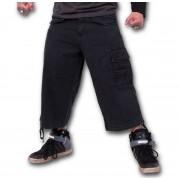 short 3/4 pour hommes SPIRAL - Metal Streetwear - P003M705