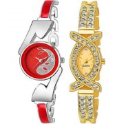 TRUE CHOICE NEW FASHION NEW ANTIQUE FANCY LOOK WATCHES FOR WOMEN WITH 6 MONTH WARRANTY