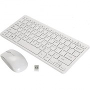 Terabyte Ultra - Thin Mini Fashion Wireless Keyboard Mouse Combo - Multi Color