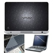 FineArts Laptop Skin 15.6 Inch With Key Guard & Screen Protector - VAIO Flora