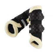 Eskadron Tendon Boots Mesh FauxF Platinum Pure - black - Size: Medium