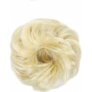 Elastic din par sintetic blond deschis Vivo