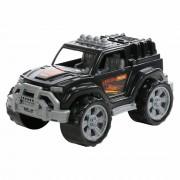 Játék terepjáró autó, fekete