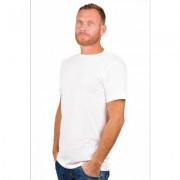 Alan Red T-Shirt Derby White (two pack)
