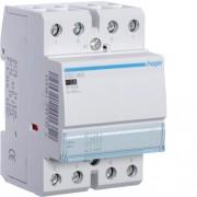 Moduláris kontaktor 63A, 2 Záró + 2 Nyitó érintkező, 230V AC 50 Hz (Hager ESC465)