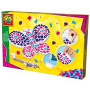 Ses Hobby Fete - Set Creativ Mozaic - Fluture