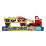 Transportor de masini cu elevator magnetic