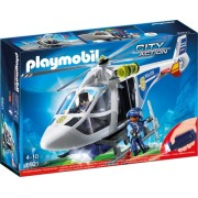 Elicopter de politie cu led Police Playmobil