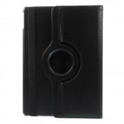 Mesh - iPad Air 2 Hoes - Rotatie Cover Lychee Zwart