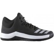 Adidas muške sportske tenisice Court Fury 2017, crno/sivo/bijele, 47,3