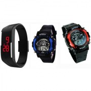 Combo Led watch for kid BY ONE